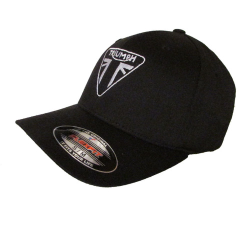 937c49e556643 ... Triumph Motorcycle Logo Ver 1 Embroidered Baseball Hat - Cap ...