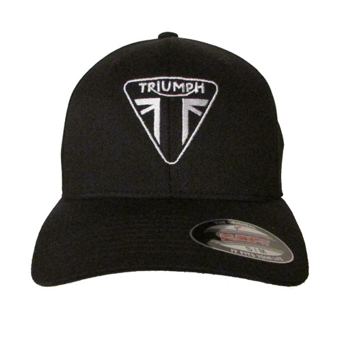 Triumph Motorcycle Logo Ver 1 Embroidered Baseball Hat - Cap