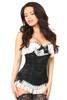 Lavish Black Burlesque Corset w/Lace