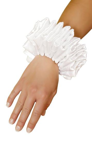 4372 - Ruffled wrist cuffs