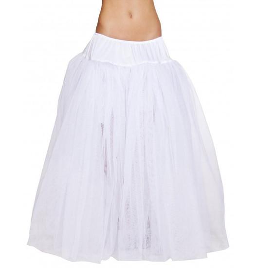 4554 - Full Length White Petticoat