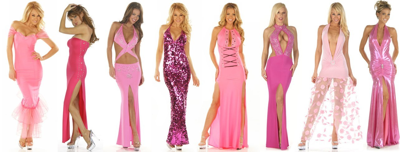 Pink Custom Gowns