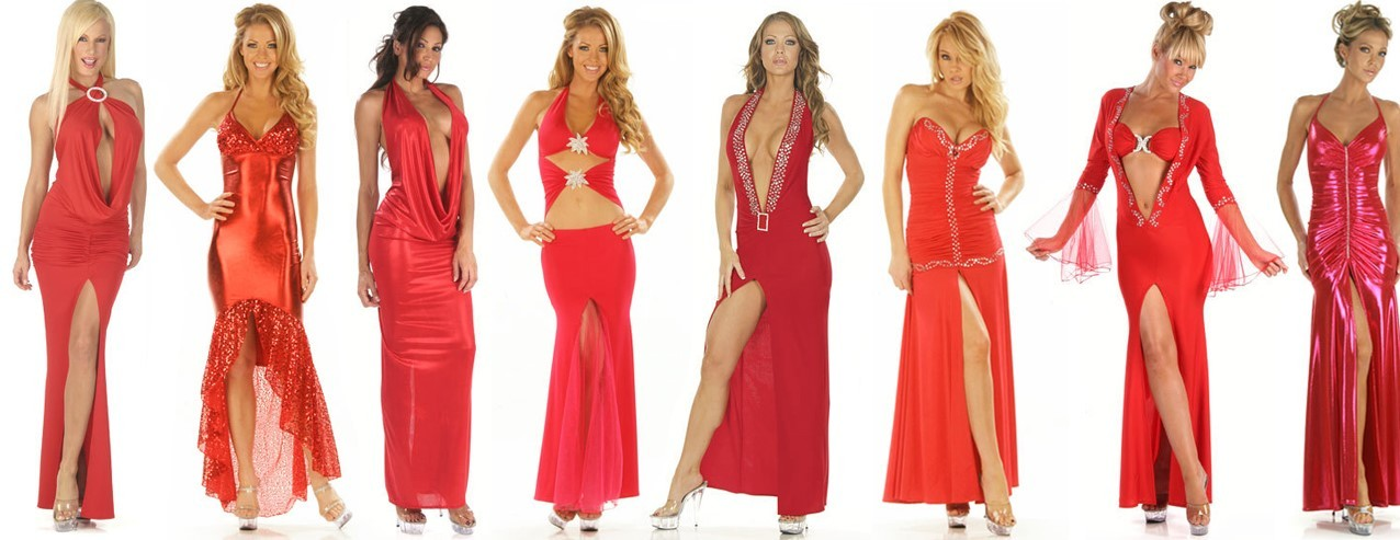 Red Custom Gowns
