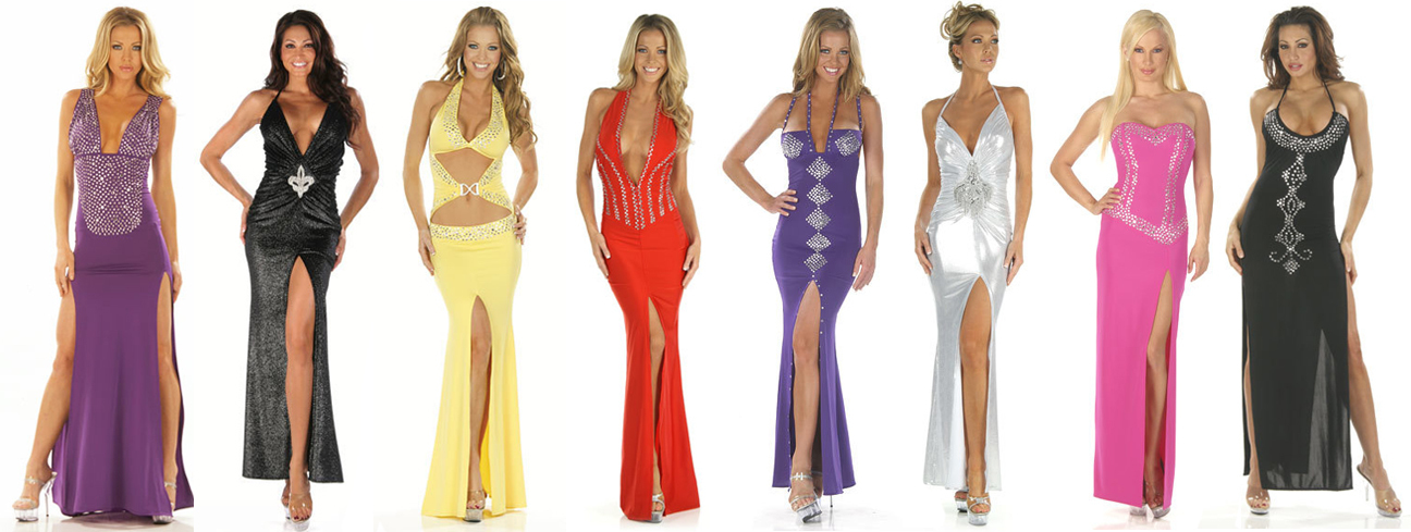 Bejeweled Custom Gowns