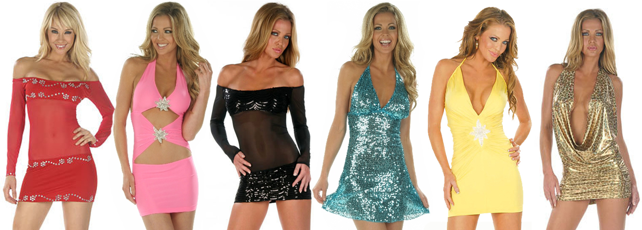 Custom Mini Dresses