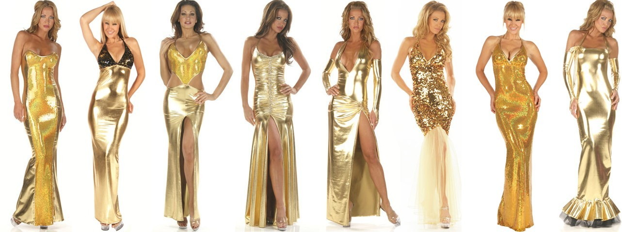 Gold Custom Gowns