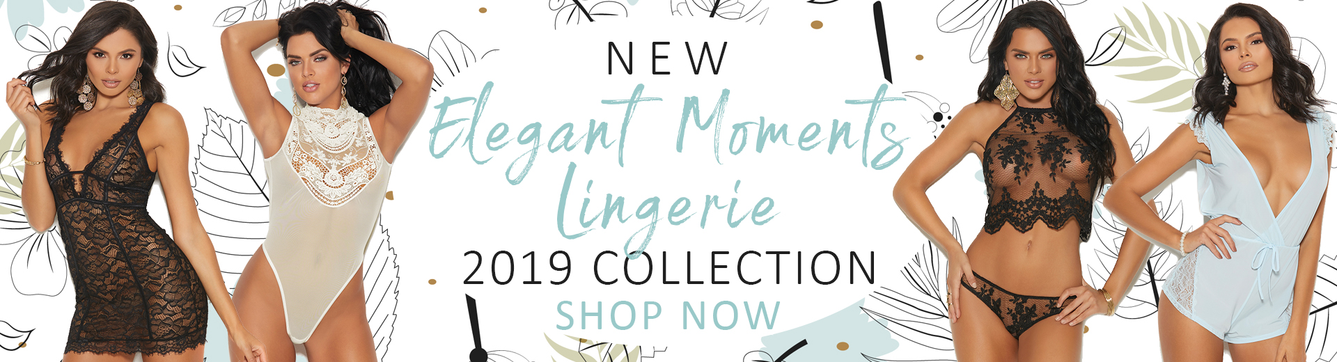 new collection elegant moments lingerie 2019 MyStripperCloset.com