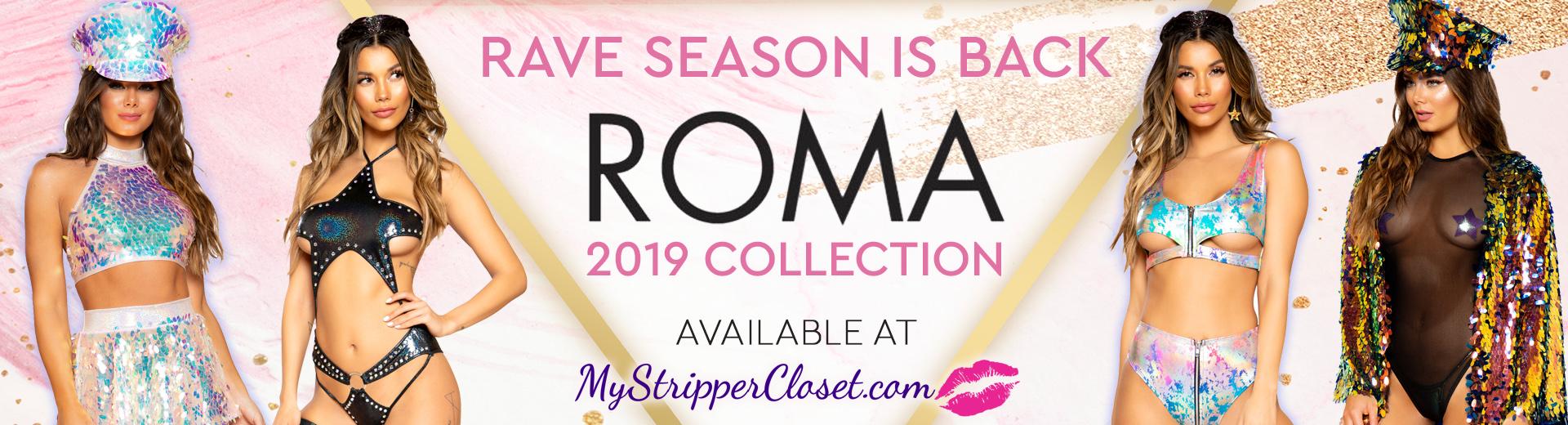New Roma Ravewear 2019 mystrippercloset.com