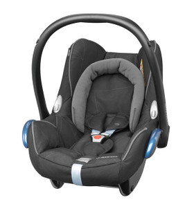 Maxi-Cosi Cabriofix Carseat + EasyFix Package Deal - Blackdiamond