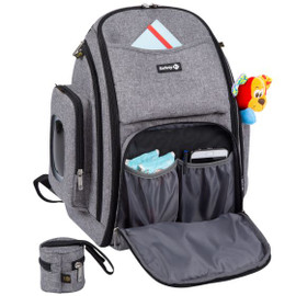 Safety 1st BackPack Changer - Black Chic