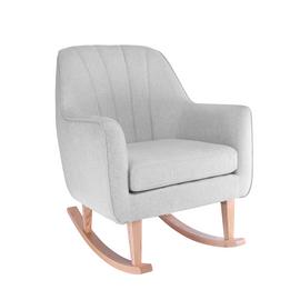 Tutti Bambini Noah Rocking Chair & Pouffe Set - Pebble