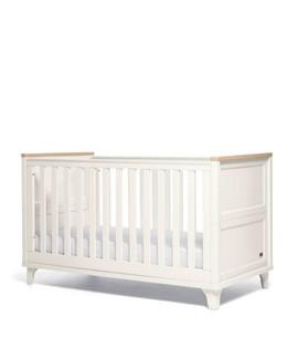 Mamas & Papas Trista Cot Bed - White/Oak