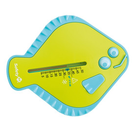 Safety 1st Flat Fish Thermometer - Lime