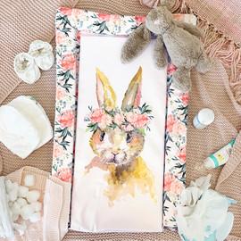 Obaby Changing Mat – Watercolour Rabbit