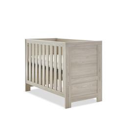 Obaby Nika Mini Cot Bed - Grey Wash