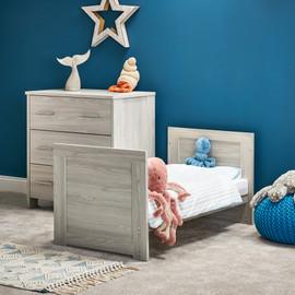 Obaby Nika Mini 2 Piece Room Set - Grey Wash