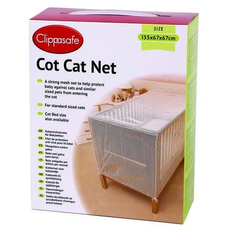 Clippasafe - Standard Cot Cat Net