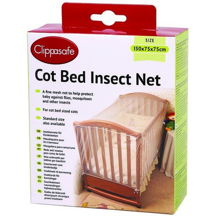 Clippasafe - Cot Bed Insect Net