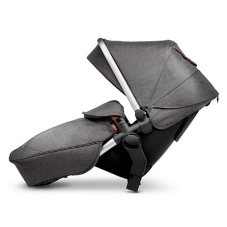 Silver Cross Wave Tandem Seat Unit - Granite
