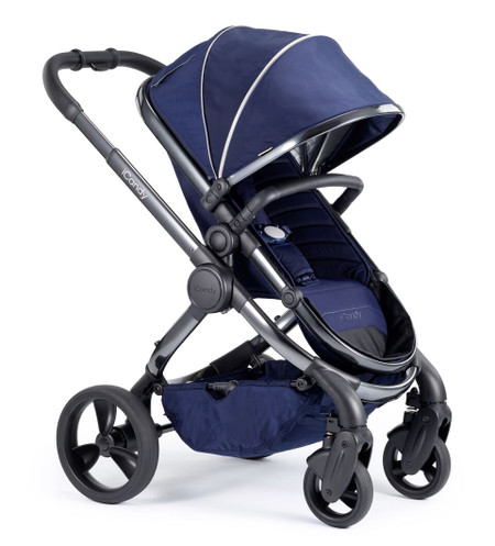 iCandy Peach Phantom Pushchair - Indigo With Changing Bag