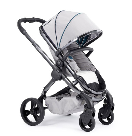 iCandy Peach Phantom Pushchair - Dove Grey With Changing Bag