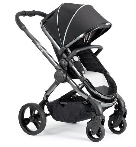 iCandy Peach Phantom Pushchair - Beluga With Changing Bag