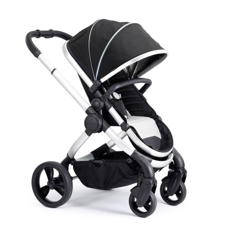 iCandy Peach Satin Pushchair - Beluga With Changing Bag