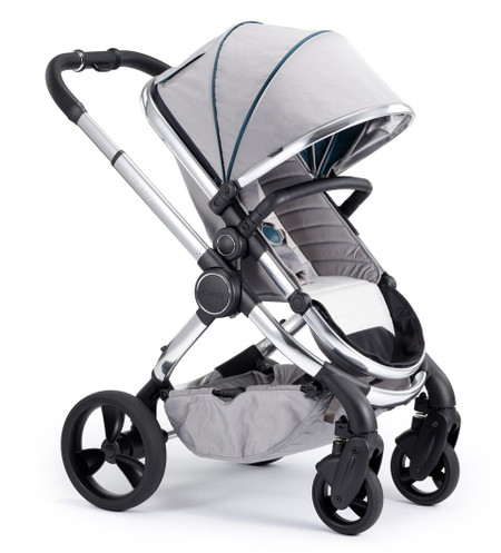 iCandy Peach Chrome Pushchair - Dove Grey With Changing Bag