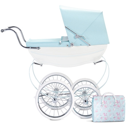 Silver Cross Doll's Pram & Bag - Sweet Pea