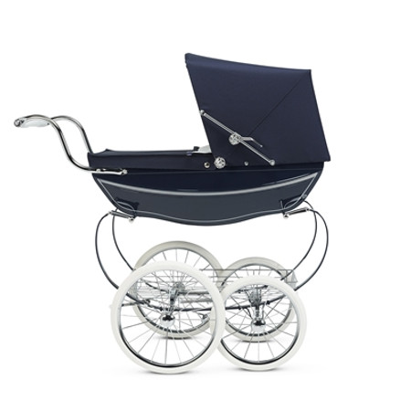Silver Cross Oberon Doll's Pram - Navy