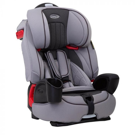Graco Nautilus Group 1/2/3 Car Seat - Steeple Grey
