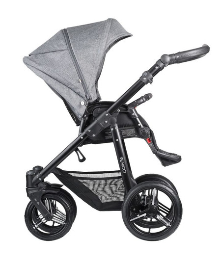 Venicci Shadow Collection 3in1 Travel System -  Denim Grey