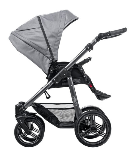 Venicci Carbo Lux Collection 3in1 Travel System -  Natural Grey Lux