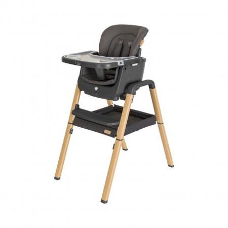 Tutti Bambini Nova Birth to 12 Years Complete Highchair Package - Grey/Oak