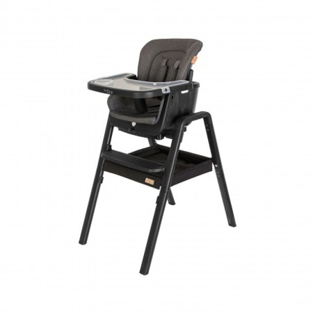 Tutti Bambini Nova Birth to 12 Years Complete Highchair Package - Black/Black