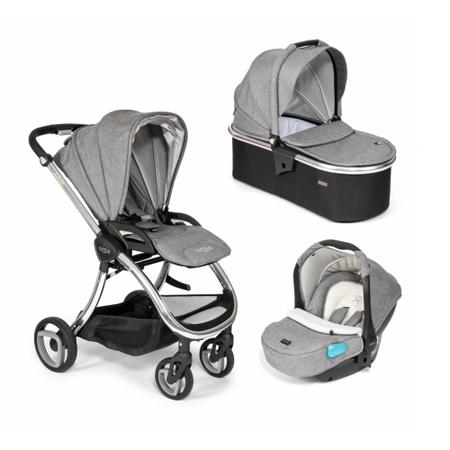 Tutti Bambini Arlo Chrome 3 in 1 Travel System- Charcoal
