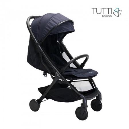 Tutti Bambini Momi Compact Stroller - Black/Liquorice