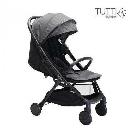 Tutti Bambini Momi Compact Stroller - Black/Charcoal