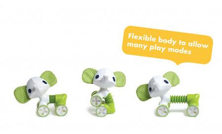 Tiny Love Tiny Rolling Toy - Samuel the Elephant