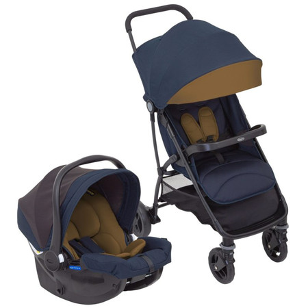 Graco Breaze Lite Travel System - Eclipse