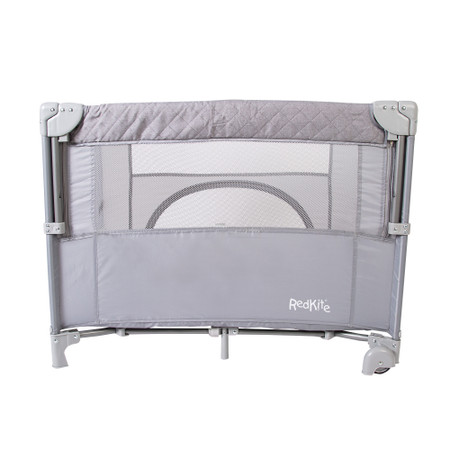 Red Kite Dreamer Bedside Crib - Quilt Grey