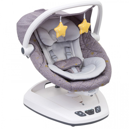 Graco Move With Me Swing with Canopy – Stargazer