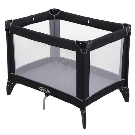 Graco Compact Travel Cot – Black/Grey