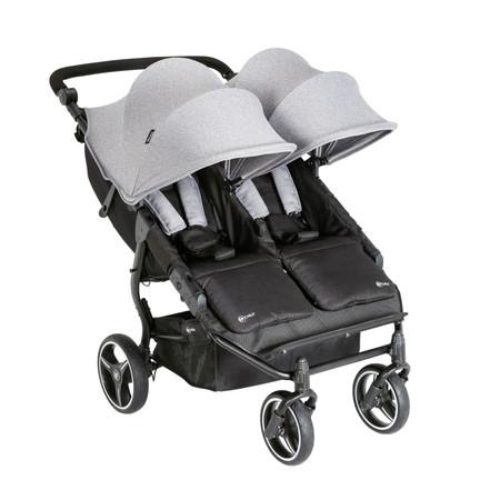 My Child Easy Twin Stroller - Grey