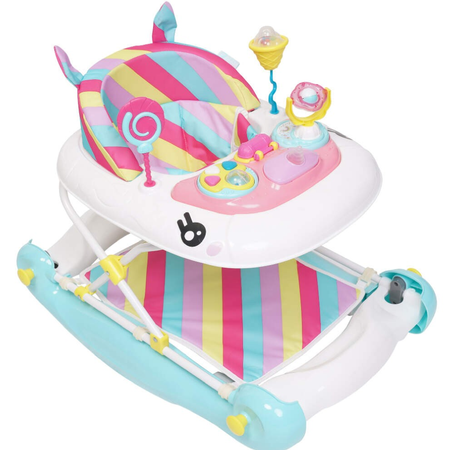 My Child Unicorn Walker Rocker - Rainbow