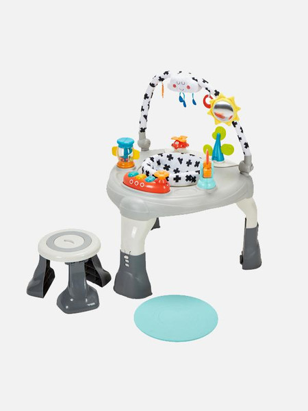 My Child Lovely World 3 in 1 Activity Centre - Grey / Multi