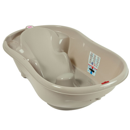 OkBaby Onda Baby Bath Without Support Bars - Taupe