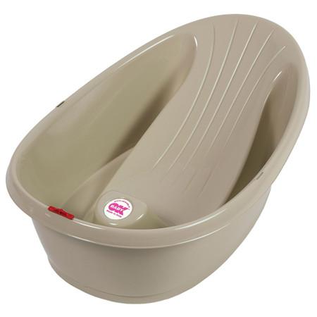 OkBaby Onda Baby Shower Bath - Taupe