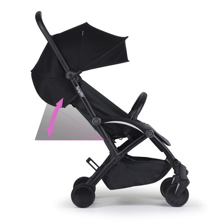 Bumprider Connect2 Stroller - White/Black