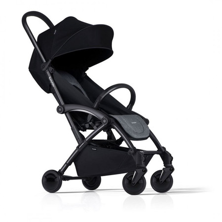 Bumprider Connect2 Stroller - Grey Melange / Black
